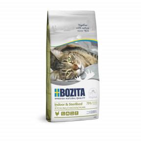 Сухой корм для стерилизованных кошек BOZITA Indoor & Sterilized с курицей 10 кг