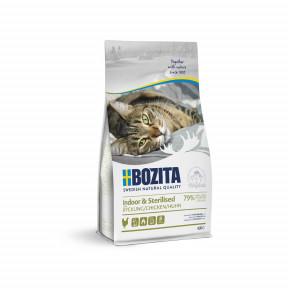 Сухой корм для стерилизованных кошек BOZITA Indoor & Sterilized с курицей 2 кг