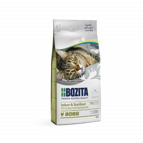 Сухой корм для стерилизованных кошек BOZITA Indoor & Sterilized с курицей 400 г