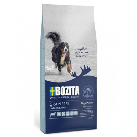 Сухой корм для собак BOZITA Grain Free Lamb беззерновой, с бараниной с картофелем 12.5 кг