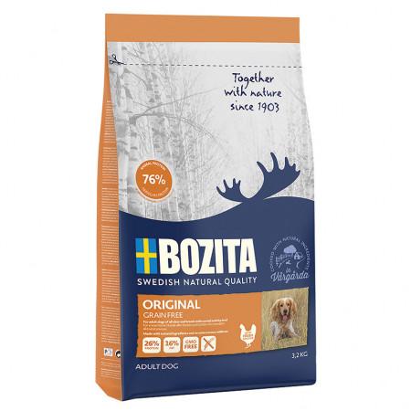 Сухой корм для собак BOZITA Naturals ORIGINAL Grain Free беззерновой, с курицей с картофелем 12 кг