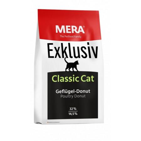 Сухой корм для кошек всех возрастов MERA EXKLUSIV CLАSSIC CAT с домашней птицей 10 кг