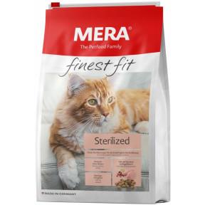Сухой корм для стерилизованных кошек MERA Finest Fit Sterilized с домашней птицей 4 кг