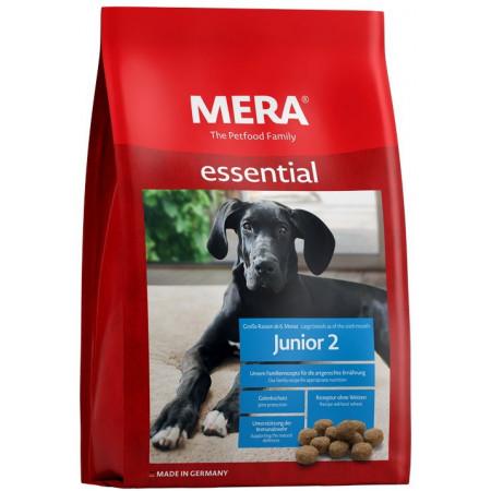 Сухой корм для щенков с 6-ти месяцев MERA Essential Junior 2 (для крупных пород) 12.5 кг