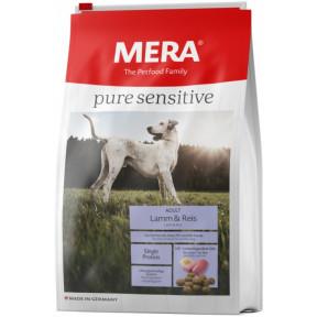 Сухой корм для собак MERA Pure Sensitive Adult с ягненком и рисом 12.5 кг