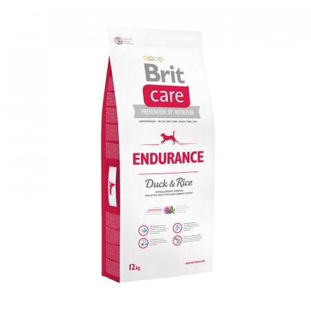 Сухой корм для активных собак BRIT Care Endurance с уткой с рисом 12 кг