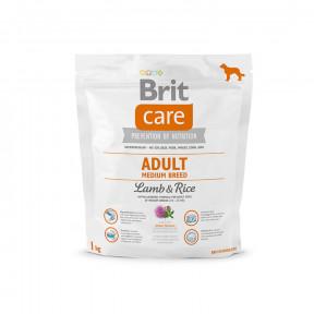 Сухой корм для собак BRIT Care Adult Medium Breed с ягненком с рисом (для средних пород) 1 кг