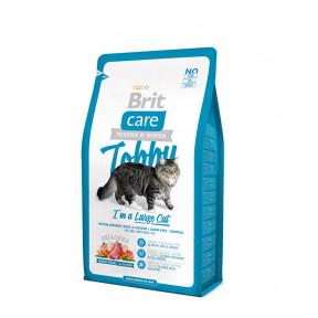 Сухой корм для кошек крупных пород BRIT Care Tobby беззерновой, с уткой с курицей 2 кг