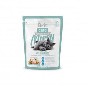 Сухой корм для стерилизованных кошек BRIT Care Missy for Sterilised, с курицей с рисом 400 г