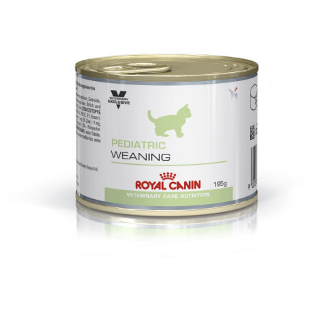 Влажный корм для котят Royal Canin Pediatric Weaning мясное ассорти (паштет) 195 г