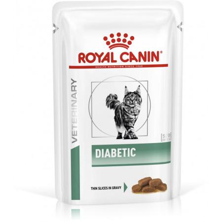 Влажный корм для кошек Royal Canin Diabetic при сахарном диабете (кусочки в соусе)