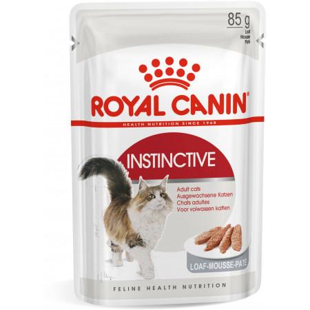 Влажный корм для кошек Royal Canin Instinctive для профилактики избыточного веса, паштет 85 г