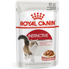 Влажный корм для кошек Royal Canin Instinctive кусочки в соусе 85 г