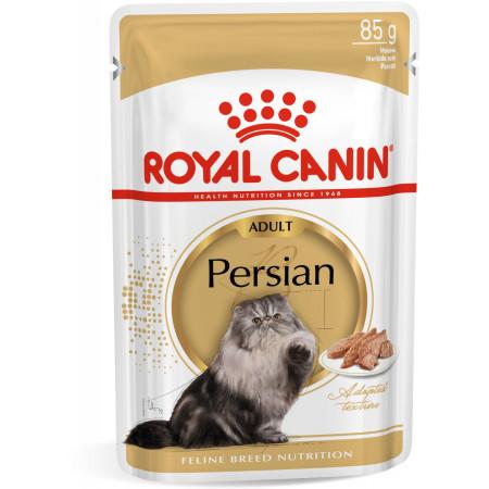 Влажный корм для Персидских кошек Royal Canin Persian мясное ассорти, рыбное ассорти (паштет) 85 г