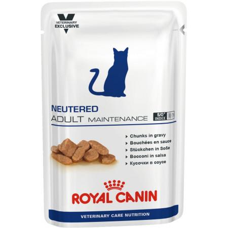 Влажный корм для стерилизованных кошек Royal Canin Neutered Adult Maintenance мясное ассорти (кусочки в соусе) 100 г