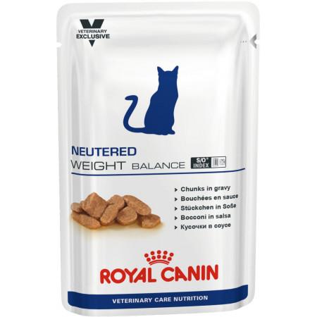 Влажный корм для стерилизованных кошек Royal Canin Neutered Weight Balance мясное ассорти (кусочки в соусе) 100 г