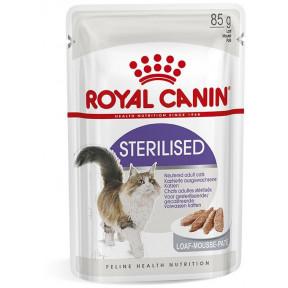 Влажный корм для стерилизованных кошек Royal Canin Sterilised паштет 85 г