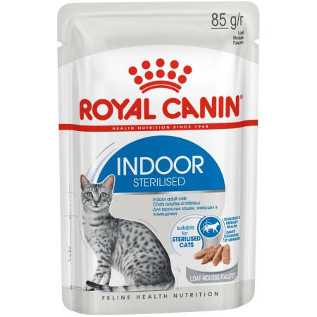 Влажный корм для стерилизованных кошек живущих в помещении Royal Canin Indoor Sterilized паштет 85 г