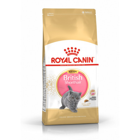 Сухой корм для британских короткошерстных котят Royal Canin British Shorthair Kitten 2 кг