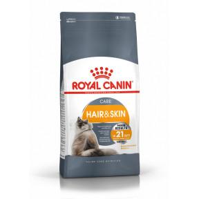 Сухой корм для кошек Royal Canin Hair And Skin Care для здоровья кожи и шерсти 2 кг