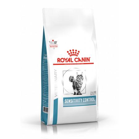 Сухой корм для кошек Royal Canin Sensitivity Control при проблемах с ЖКТ, при аллергии, с уткой 1.5 кг