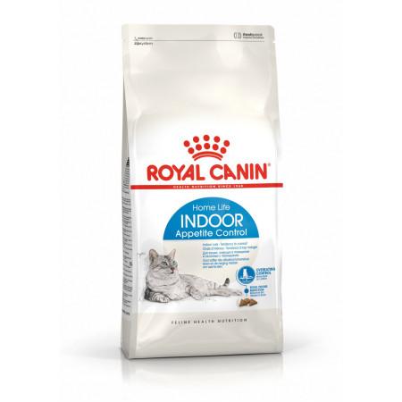 Сухой корм для кошек, живущих в помещении Royal Canin Indoor Appetite Control при склонности к перееданию 2 кг