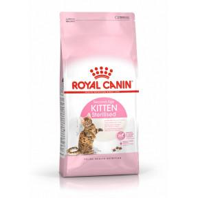 Сухой корм для стерилизованных котят Royal Canin Kitten Sterilised в возрасте от 6 до 12 месяцев 400 г