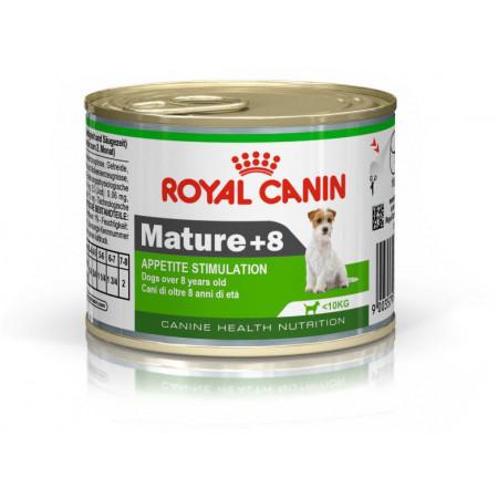 Влажный корм для пожилых собак Royal Canin Mature +8 (для мелких пород) 195 г