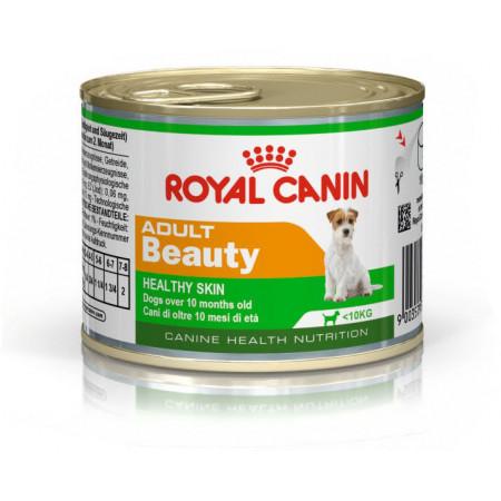 Влажный корм для собак Royal Canin Beauty Adult для здоровья кожи и шерсти (для мелких пород) 195 г