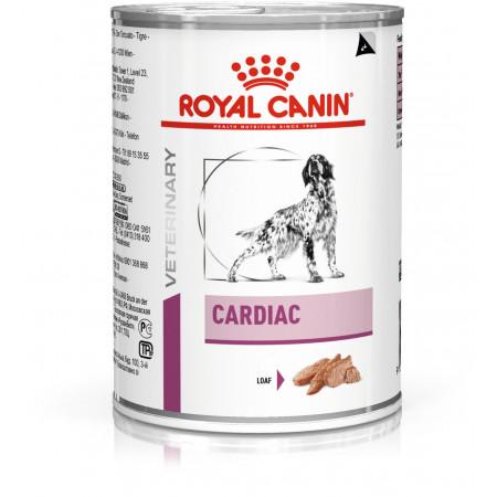 Влажный корм для собак Royal Canin Cardiac для поддержания функции сердца при хронической сердечной недостаточности 410 г