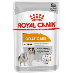 Влажный корм для собак Royal Canin Coat Care для здоровья кожи и шерсти 85 г