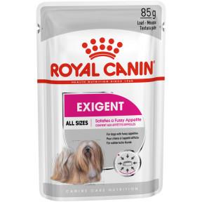 Влажный корм для собак Royal Canin Exigent для привередливых в питании 85 г