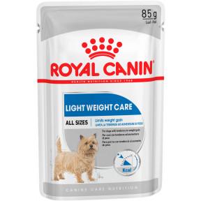 Влажный корм для собак Royal Canin Light Weight Care при склонности к избыточному весу 85 г