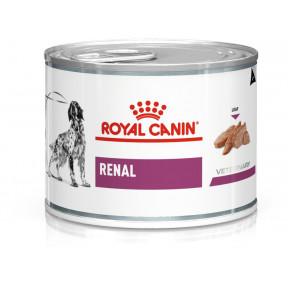 Влажный корм для собак Royal Canin Renal при заболеваниях почек, паштет 410 г