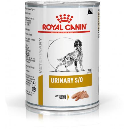Влажный корм для собак Royal Canin Urinary S/O при мочекаменной болезни, паштет 410 г