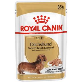 Влажный корм для Такс Royal Canin Dachshund для собак от 10 месяцев 85 г