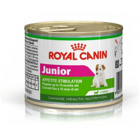 Влажный корм для щенков Royal Canin Junior (для мелких пород) 195 г