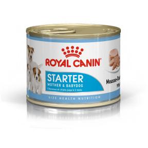 Влажный корм для щенков, для беременных и кормящих собак Royal Canin Starter Mother & Babydog паштет 195 г