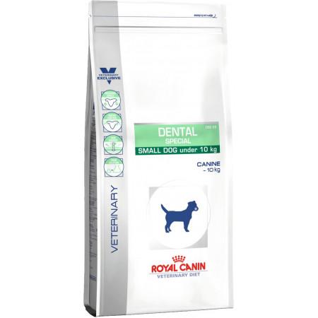 Сухой корм Royal Canin Dental Special DSD25 при заболеваниях зубов и десен (для мелких пород) 2 кг