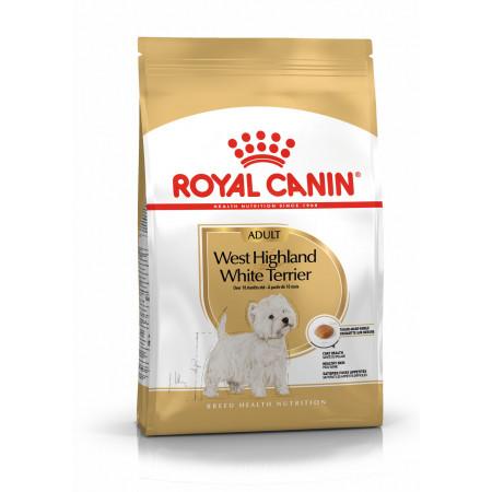 Сухой корм для Вест Хайленд Уайт Терьеров Royal Canin West Highland White Terrier Adult для собак от 10 месяцев 1.5 кг