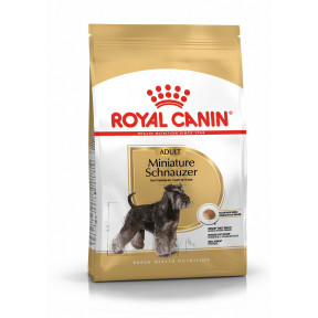 Сухой корм для Миниатюрного Шнауцера Royal Canin Miniature Schnauzer Adult (для собак мелких пород от 10 месяцев) 3 кг