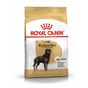 Сухой корм для Ротвейлеров Royal Canin Rottweiler Adult для здоровья костей и суставов (для собак от 18 месяцев) 12 кг