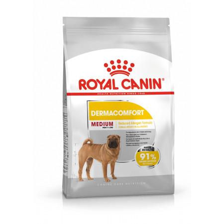 Сухой корм для собак Royal Canin Medium Dermacomfort при раздражениях и зуде кожи (для средних пород) 10 кг