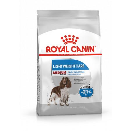 Сухой корм для собак Royal Canin Medium Light Weight Care при склонности к избыточному весу (для средних пород) 3 кг