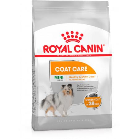 Сухой корм для собак Royal Canin Mini Coat Care для здоровья кожи и шерсти (для мелких пород) 3 кг
