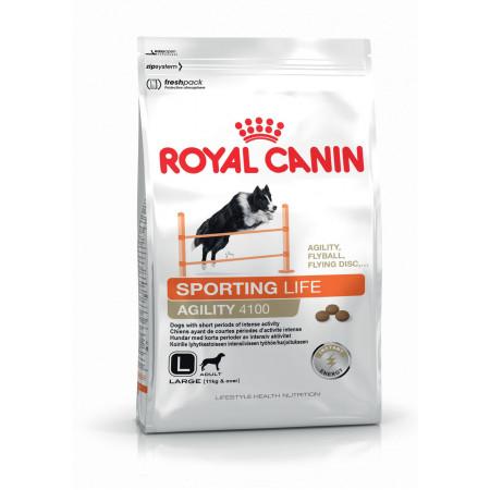 Сухой корм для собак Royal Canin Sporting Life Agility 4100 для активных животных (для крупных пород весом от 11 кг) 15 кг