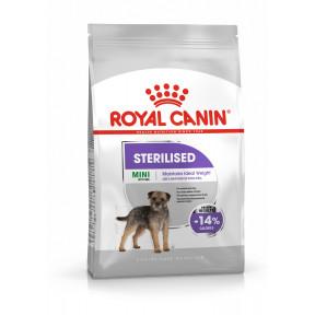 Сухой корм для стерилизованных собак Royal Canin Mini Sterilised при склонности к избыточному весу (для мелких пород) 3 кг