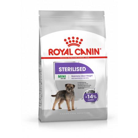 Сухой корм для стерилизованных собак Royal Canin Mini Sterilised при склонности к избыточному весу (для мелких пород) 4 кг