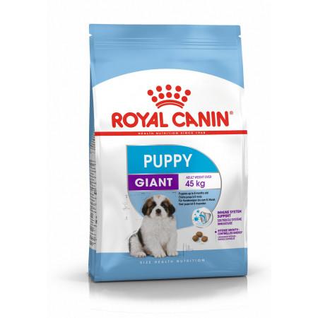 Сухой корм для щенков Royal Canin Giant Puppy для собак до 8 месяцев (для крупных и гигантских пород) 15 кг