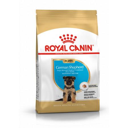 Сухой корм для щенков Немецкой Овчарки Royal Canin German Shepherd Puppy для собак до 15 месяцев 12 кг